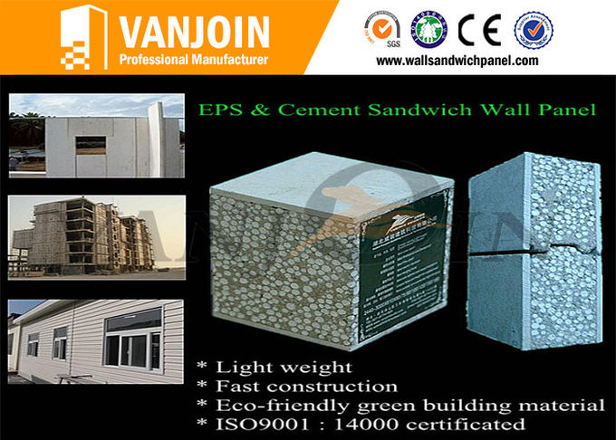 Sandwich Panel Modern Prefab Houses / Comfortable Prefabricated Houses