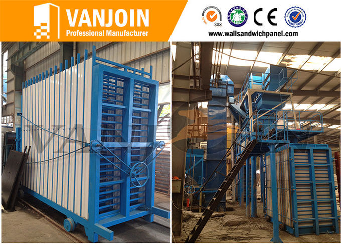 Prefabricated Concrete Energy Saving Cement Wall Panel Making Machine
