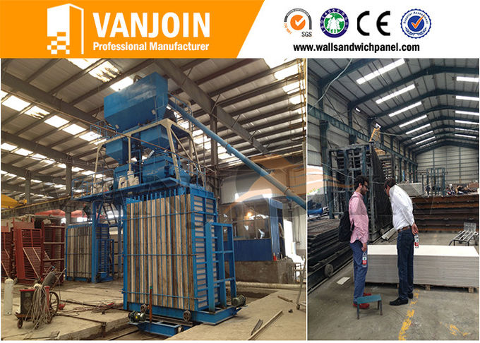 Low Cost Concrete Fast Insuallation Partition Wall Board Making Machine