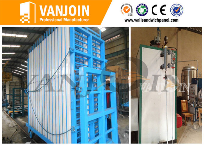 Continuously Operation Cement Eps Sandwich Panel Machine For Small Business