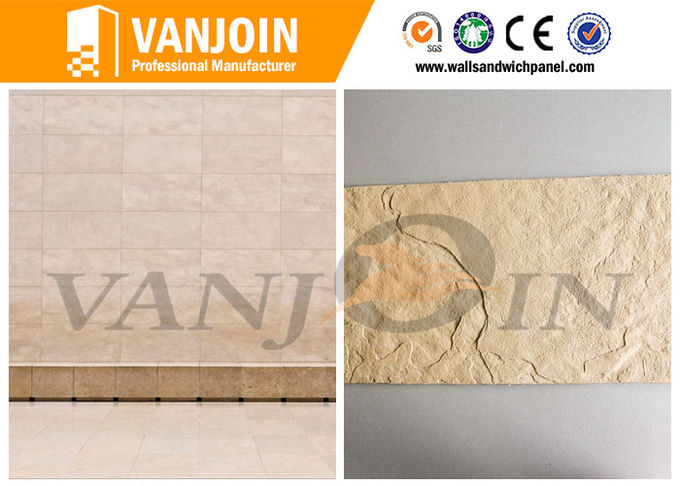 Weatherproof Anti Aging Decorative Stone Tiles Anti Cracking Flexible Soft Wall Tile