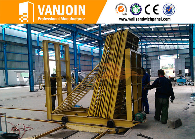 One Key Control Lightweight Concrete Wall Sandwich Panel Machine Line