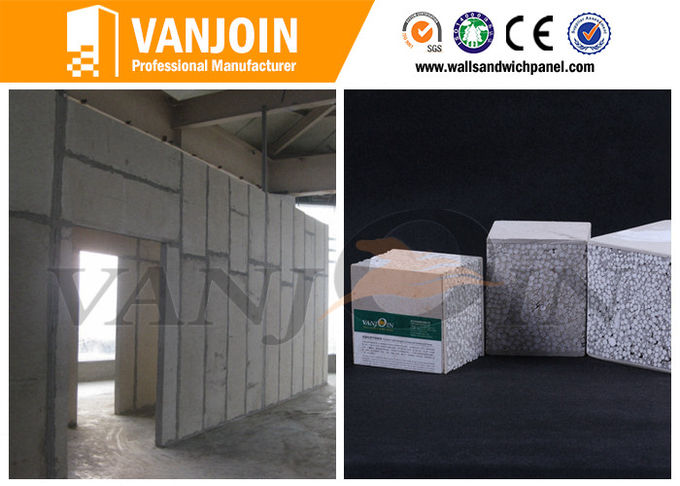 Construction 90mm 120mm eps cement sandwich wall panel for prefab house building