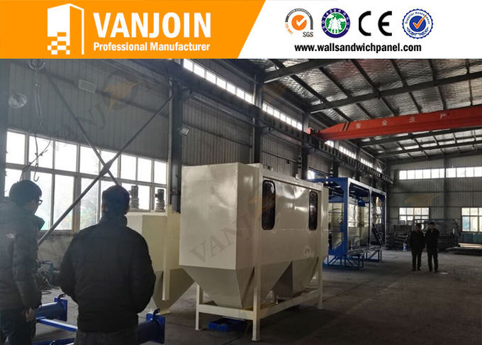 Precast Heat Insulation Saving Cost Eps Sandwich Panel Machine Lightweight