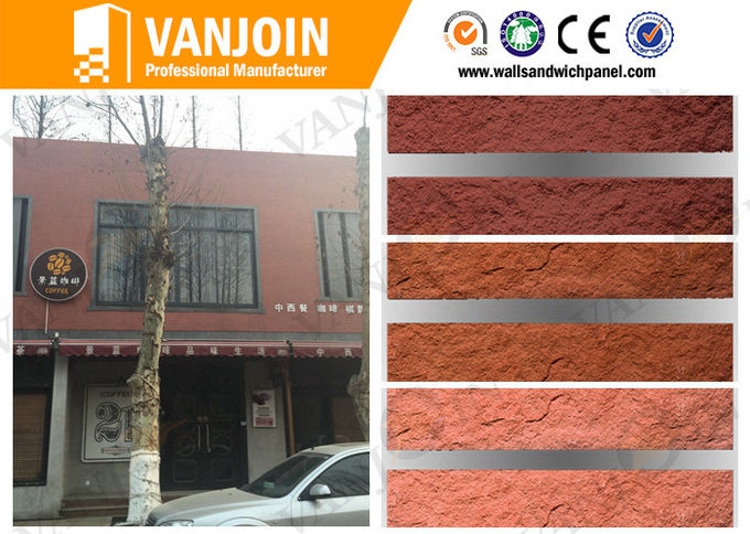 Temperature Control Flexible Decorative Wall Panel Indoor Stone Fireproof Wall Tiles