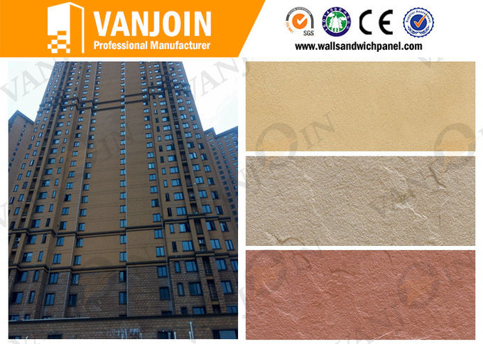 High Rise Building Exterior Colored Ceramic Soft Wall Tile For Hospital