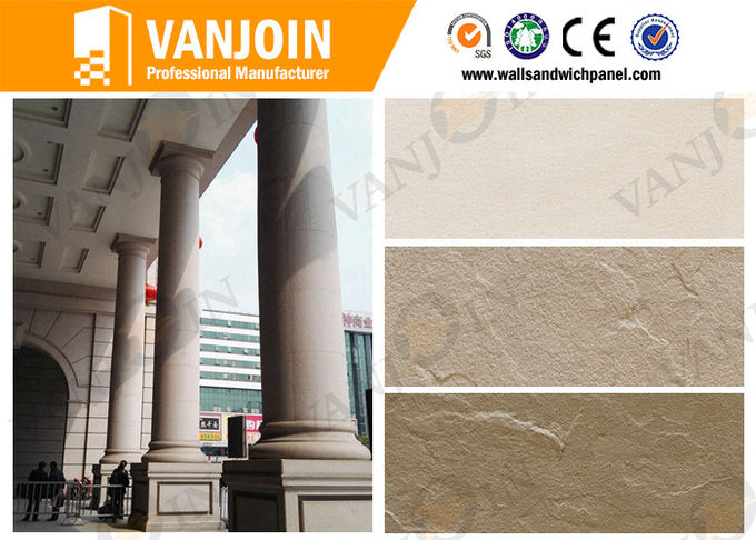 300x600MM Faux Marble Acid Resistant Waterproof Soft MCM Outdoor Stone Wall Tile