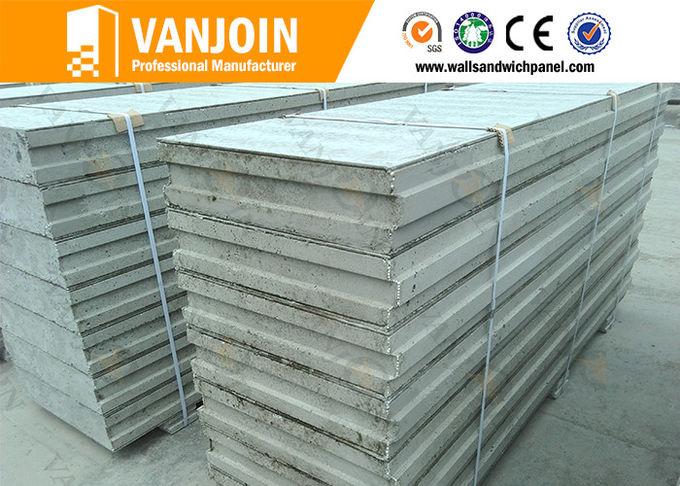 Fireproof Flooring Material >> Prefab House EPS Cement Sandwich Panel / Fireproof Cement ...