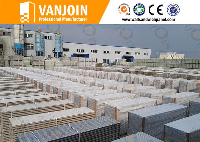 High rise concrete / steel structure insulated building panels Heat Resistance