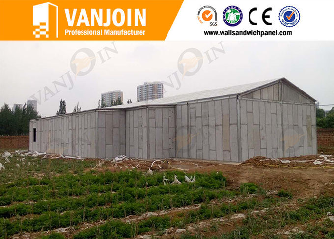 150Mm eps Precast Concrete Wall Panels , lightweight building material for prefab house