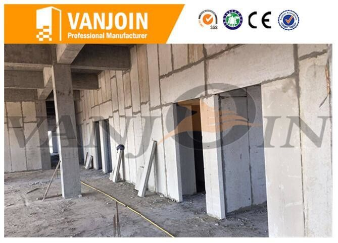 100mm Lightweight EPS foam concrete wall panels , Exterior / Interior insulated building panels