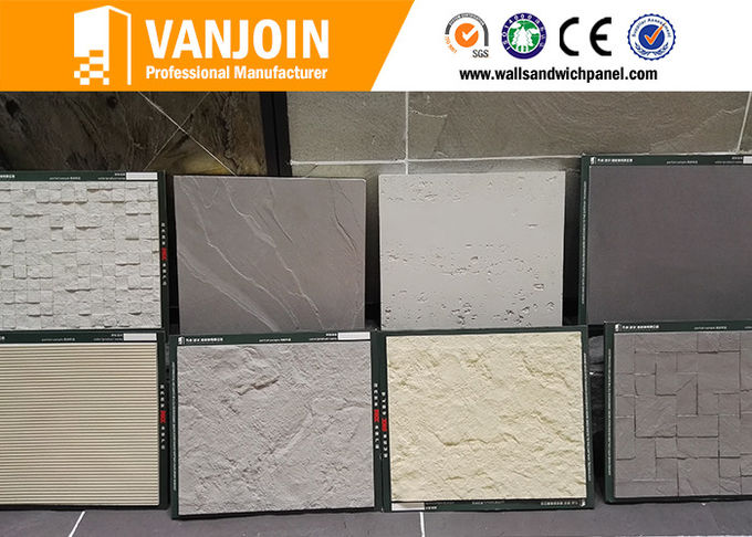Interior / Exterior Flexible Ceramic Tile for High Prefab Apartment / Office Building