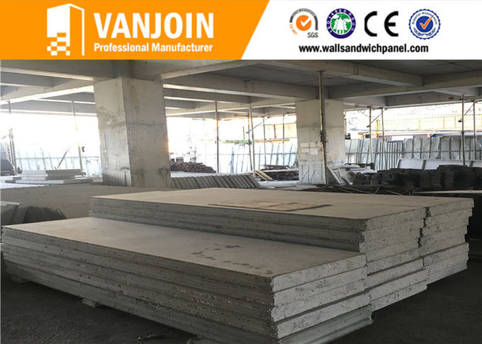 Wuhan Building Material Fire Rated Cement & Steel Composite Wall Panel Water - Proofing
